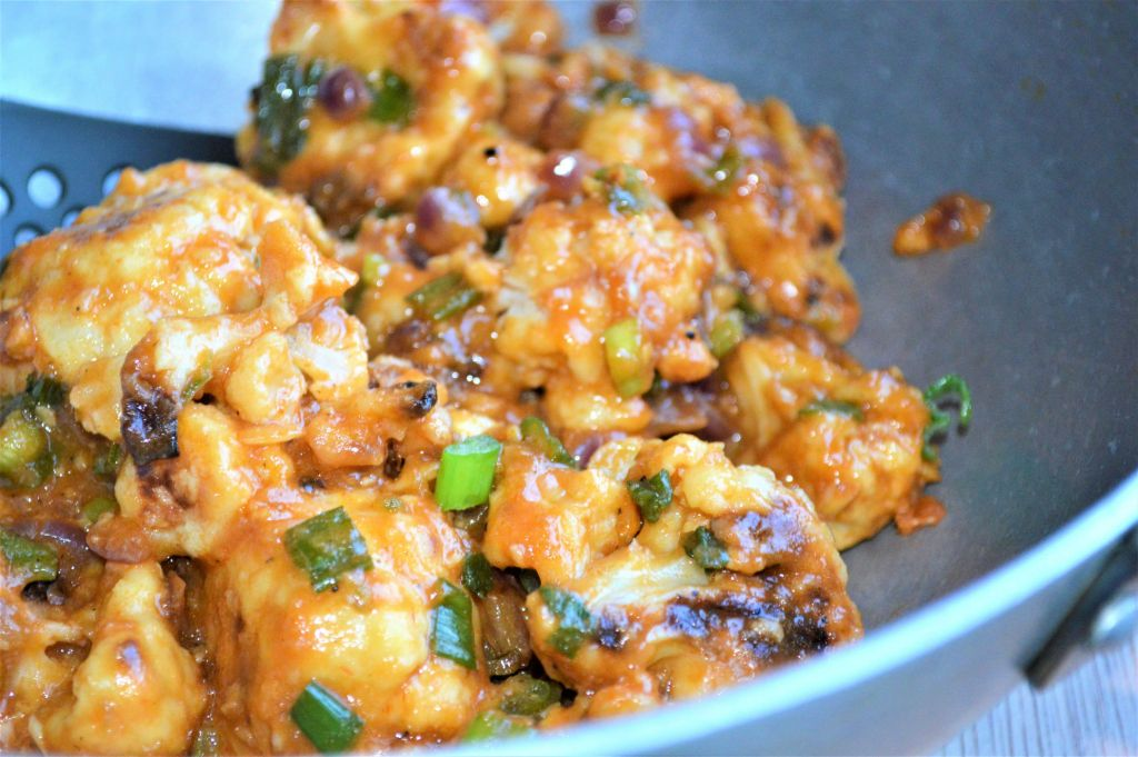 healthy low fat gobi manchurian recipe