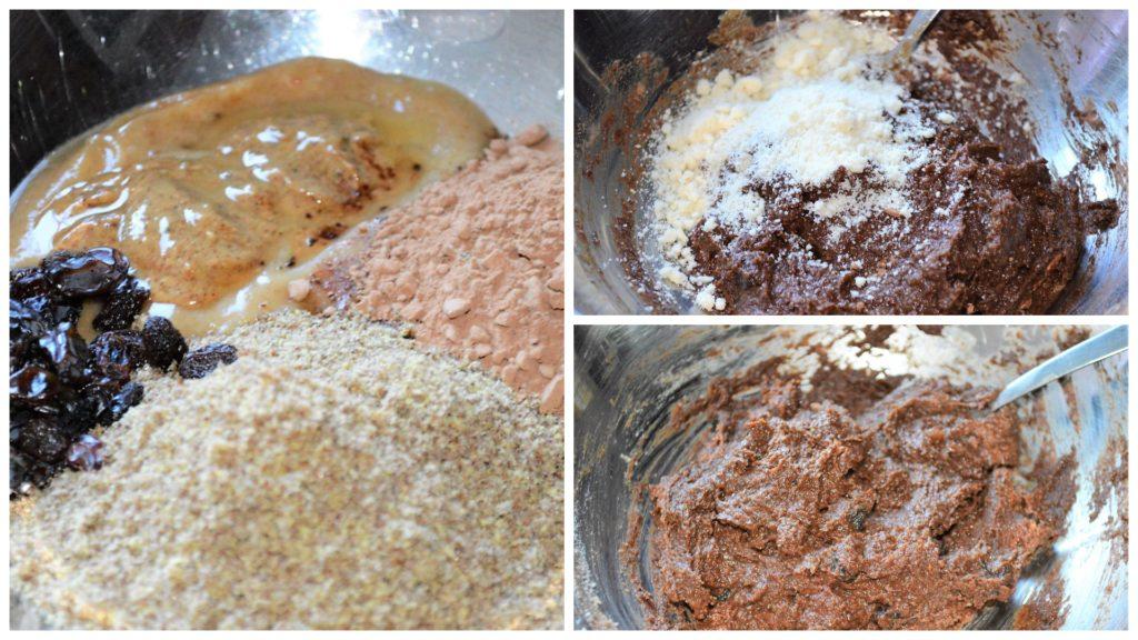 Flax truffles process