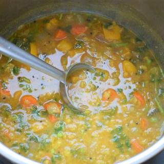 Instant Pot Sambar Recipe