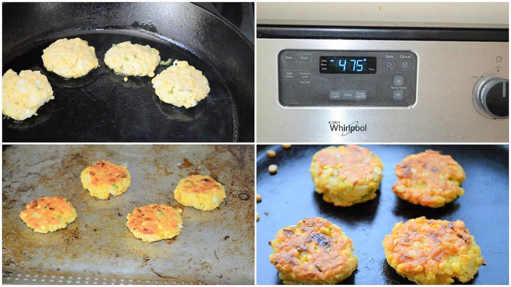 Healthy masala vada baked oven
