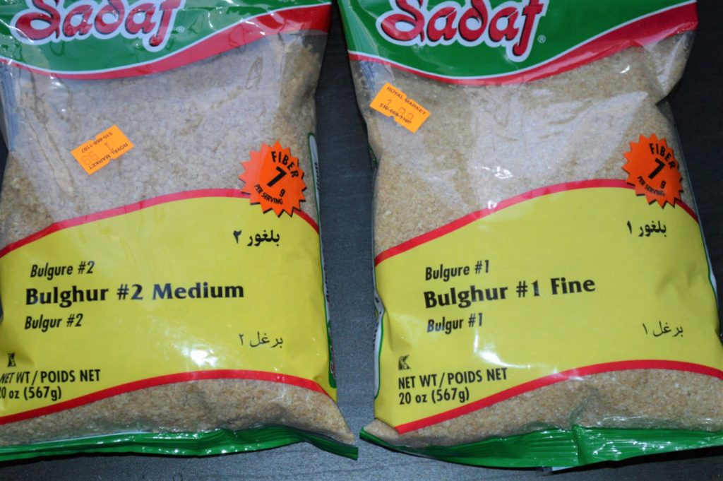 Bulgur 1 and 2