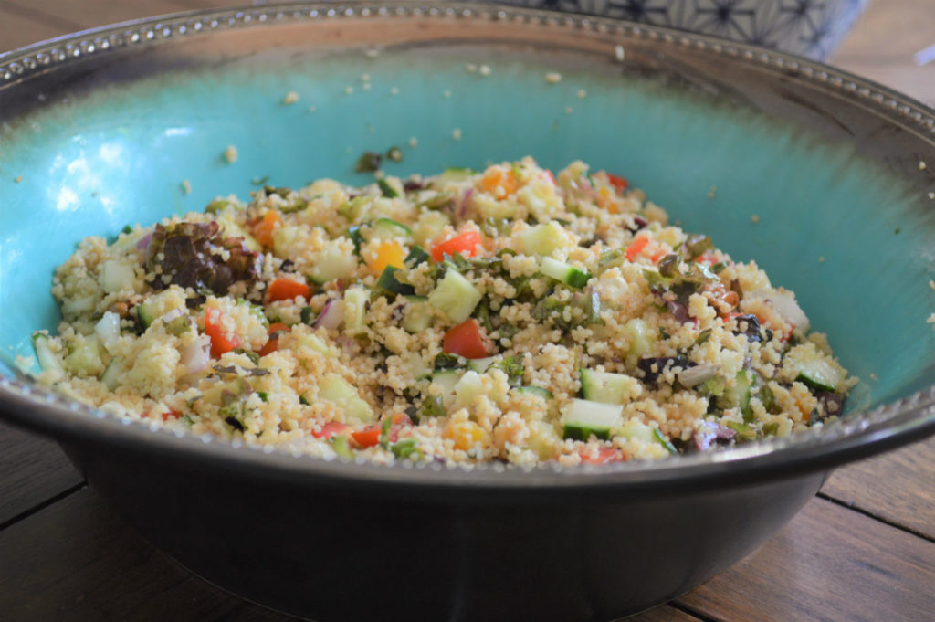 Healthy Couscous salad recipe
