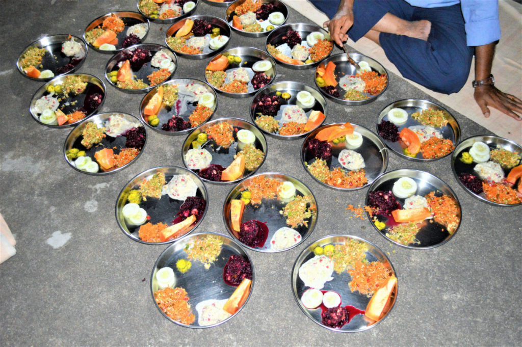 Indian Raw food vegetables