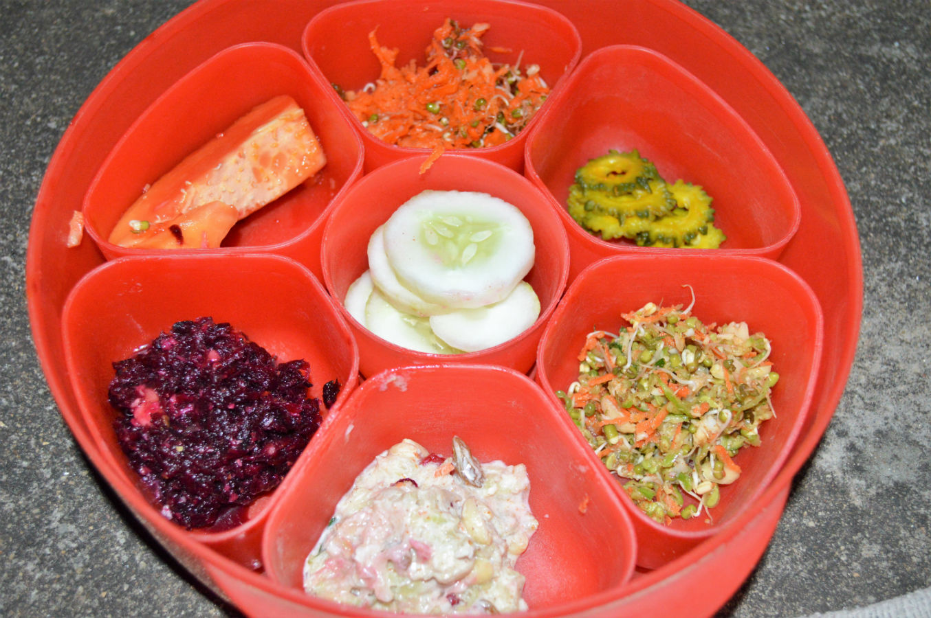 Indian Raw Food Boxed version