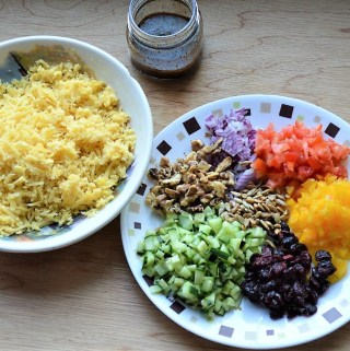 Moong dal lentil vegan salad recipe