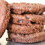 Flax Wheat germ omega 3 vegan cookie