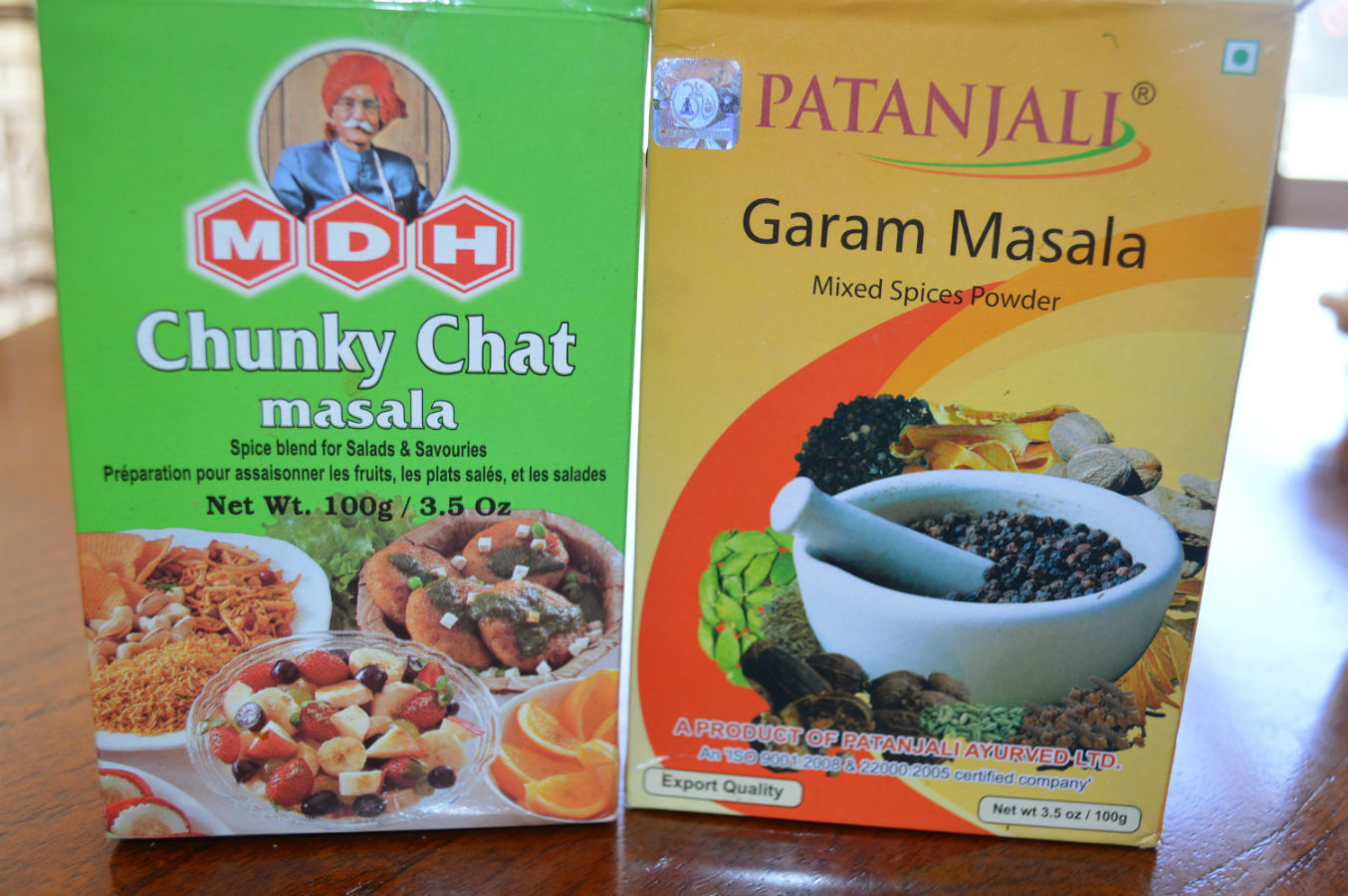Chaat chat masala different from garam masala