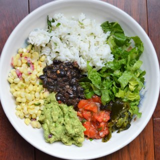 DIY homemade Chipotle vegan burrito bowl recipe