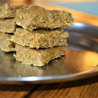 Easy Flax Bar, Flax Squares Recipe