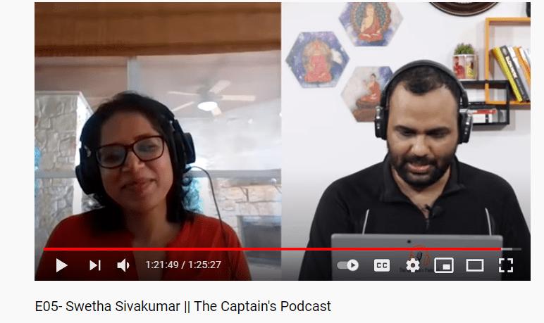 Swetha Sivakumar interview