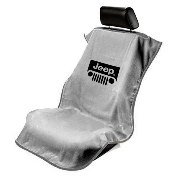 Protective Cloth Seat Cover Towel Jeep Logo