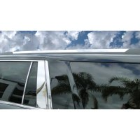 2015 Suburban Chrome Roof Rack Accent Trim Covers (2 PC ...
