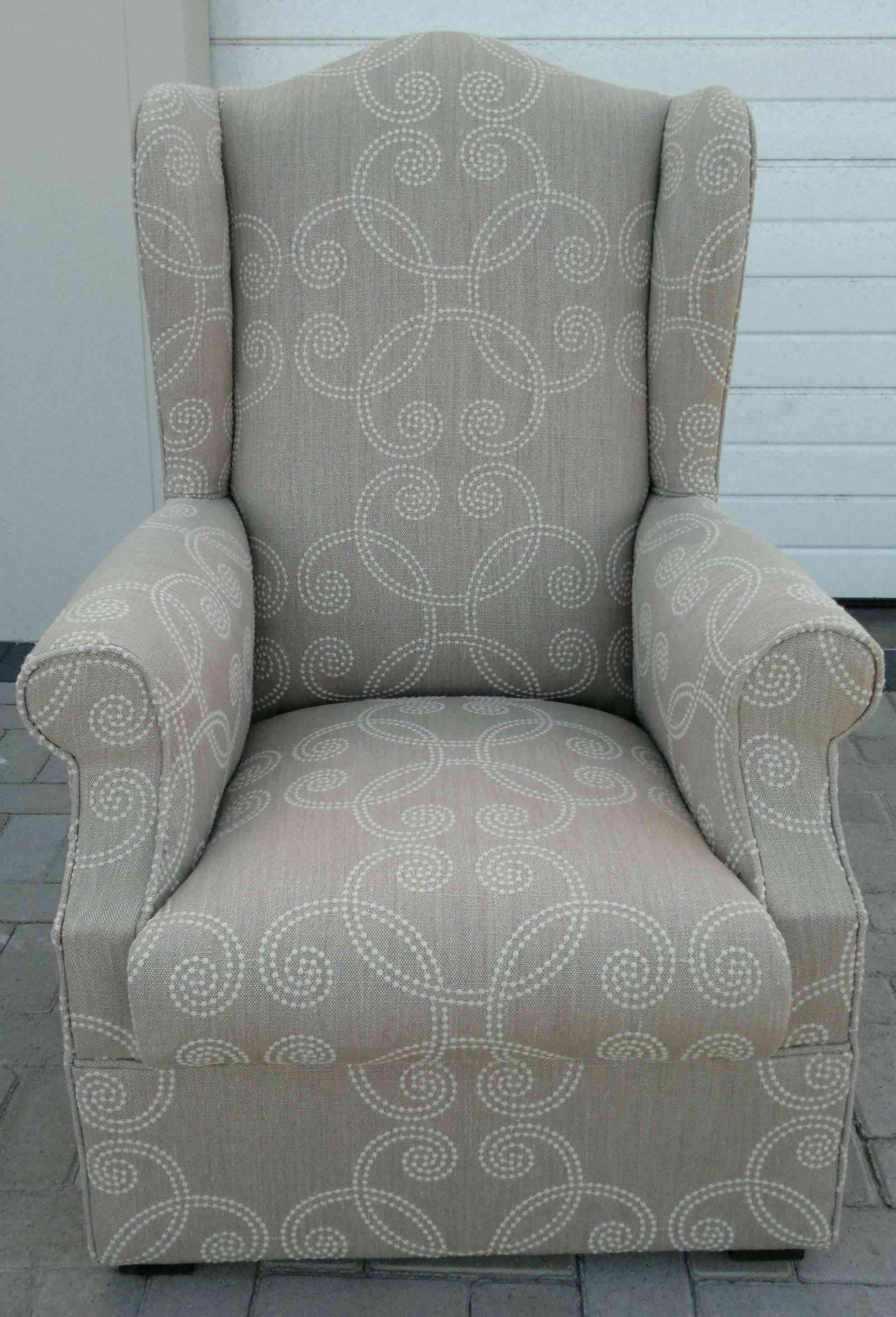 leather wingback chairs south africa hickory chair wing upholstery cape town couches for sale re