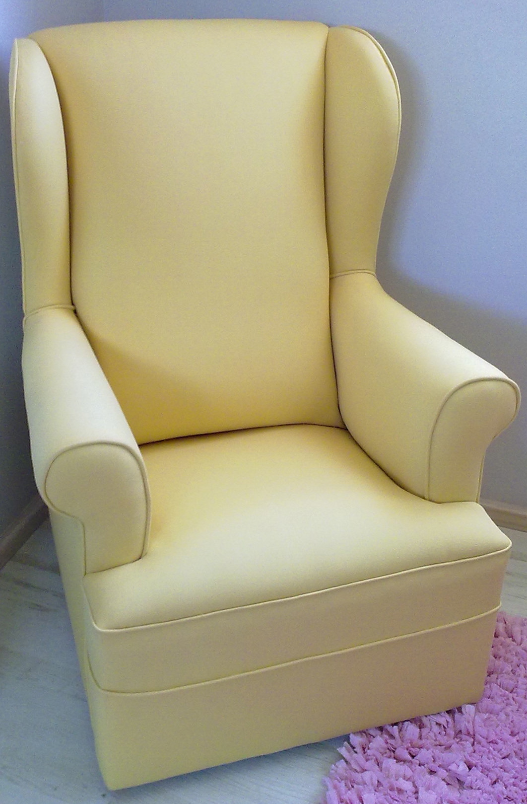 wingback rocking chair cape town ski chairlift chairs for sale nursing upholstery