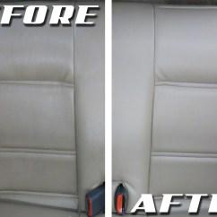 How To Clean Dirty White Leather Sofa Mini Sleeper Car Interior Diy Psoriasisguru