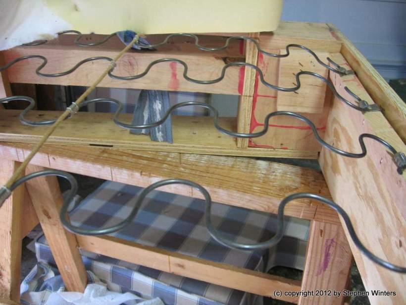 repair springs in sofa. Black Bedroom Furniture Sets. Home Design Ideas