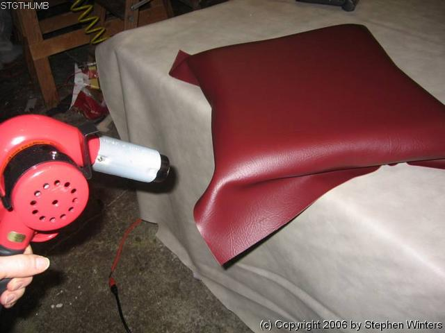 Using a Heat Gun in Upholstery  Upholstery Resource