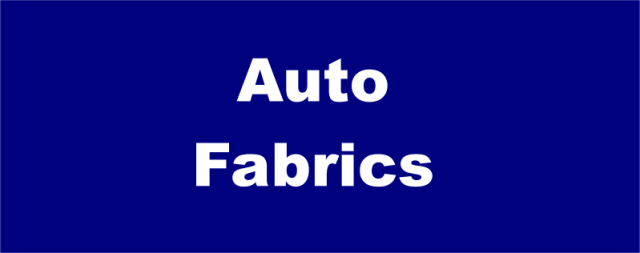 Auto upholstery supplies