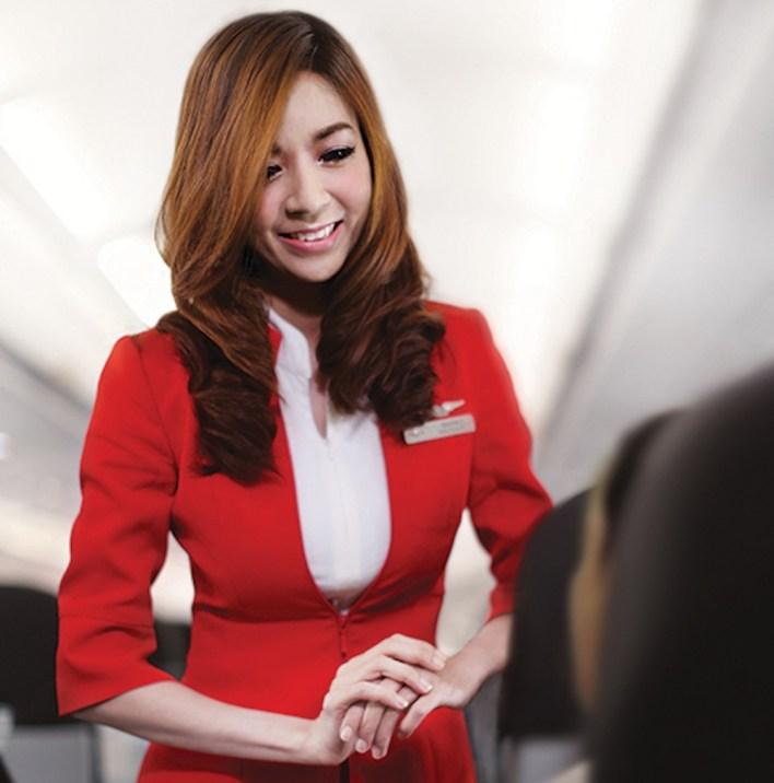 AirAsia flight attendant - ©AirAsia