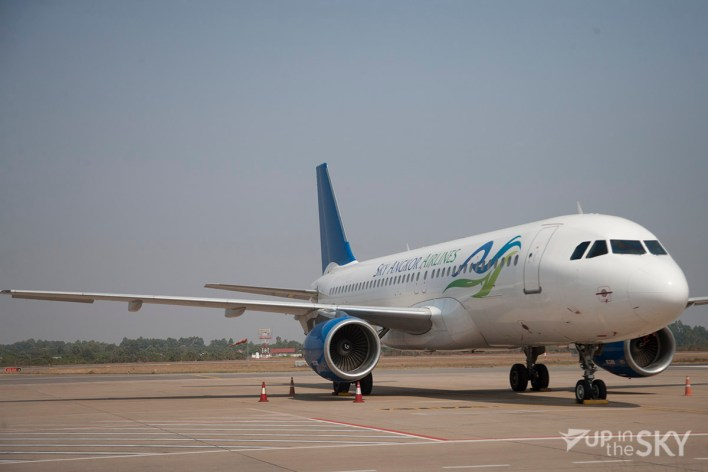 Sky Angkor Airlines A320