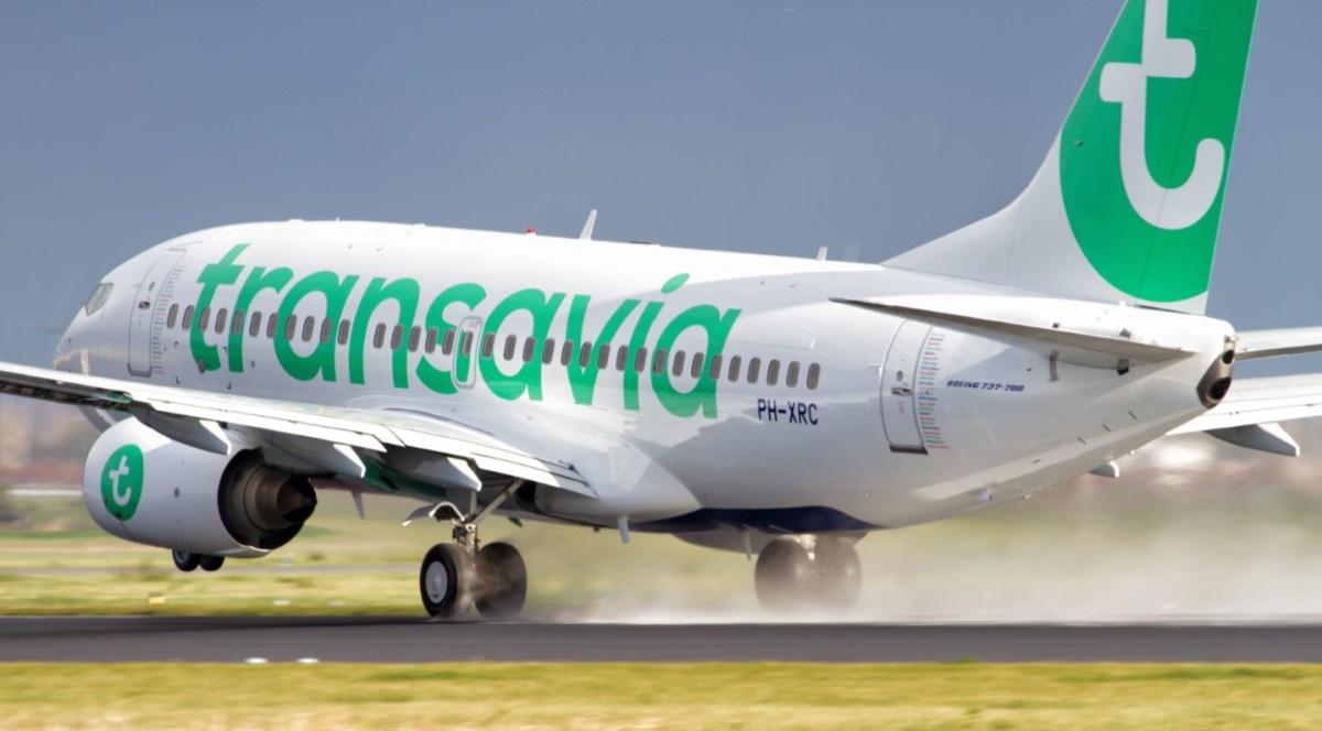 Toiletten stuk: toestel Transavia keert terug