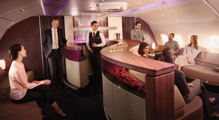 A380 Lounge ©Qatar
