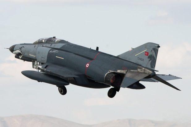 F-4E Phantom 2020 van de Turkse luchtmacht © Paul Mali