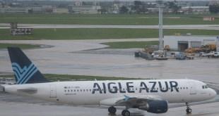 Aigle Azur A320 op Orly