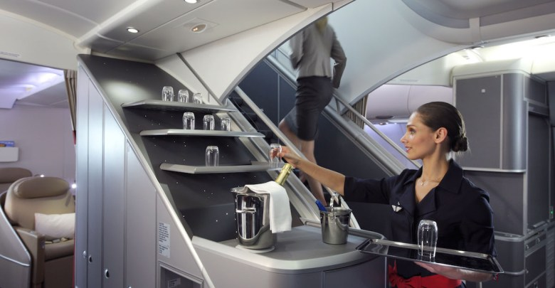 Flight Attendant in A380 Air France