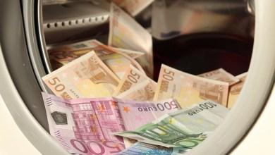 Geld in wasmachine