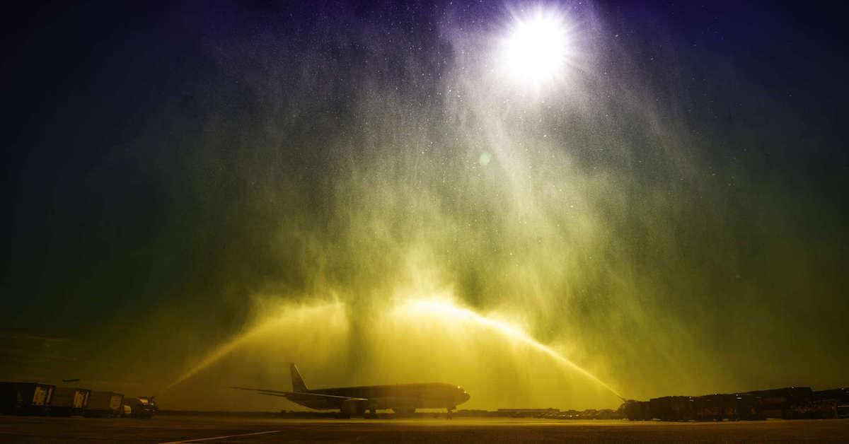 Laatste nieuwe KLM 777 staat klaar bij Boeing | Foto