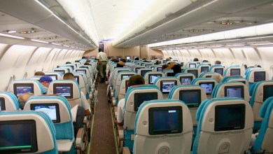 Interieur A330-200 van Turkish