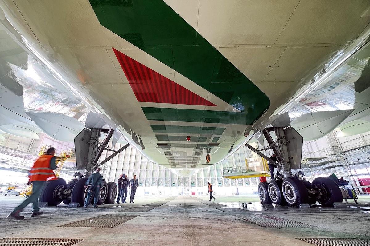 'Italië wil deel Alitalia overnemen'