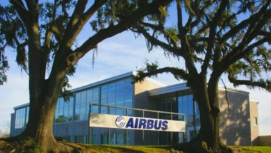 Airbus fabriek in Mobile, Alabama