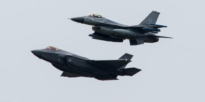 F-35 maakt meer geluid dan F-16