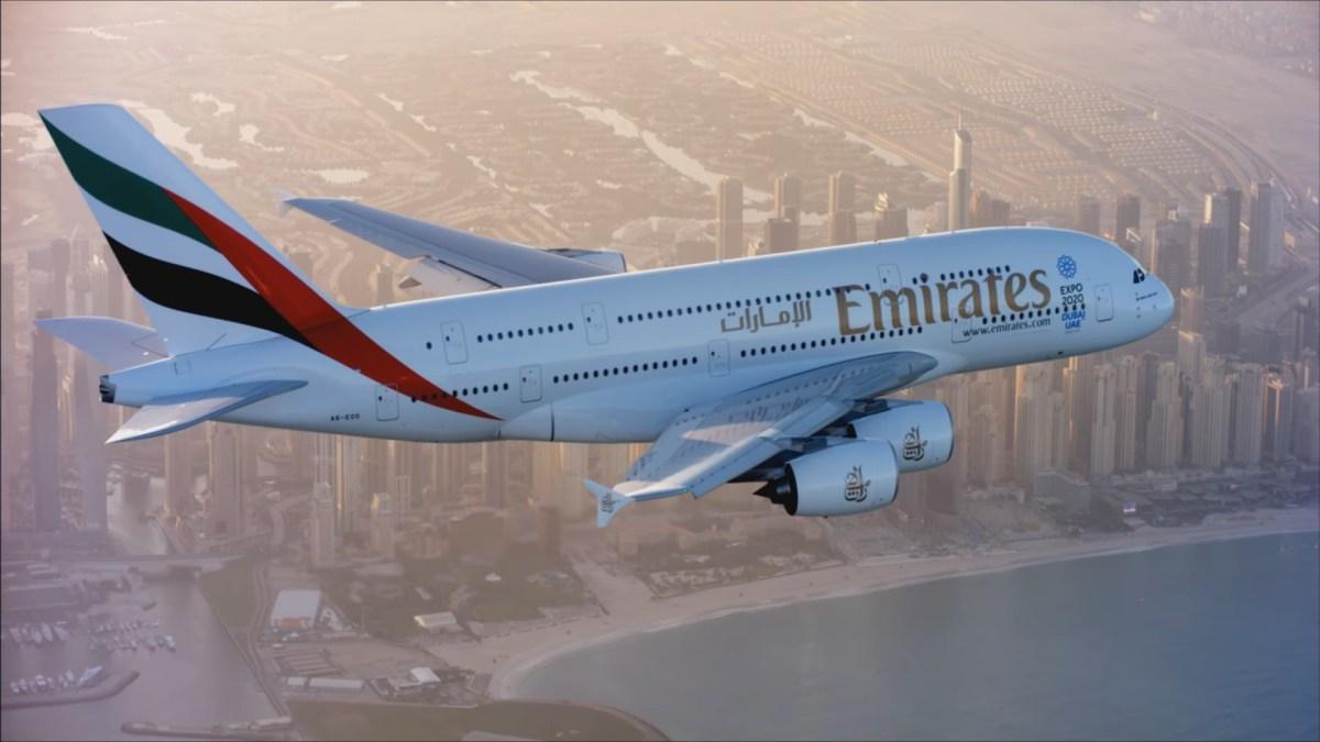 Emirates met vierde A380 van Dubai naar Sydney