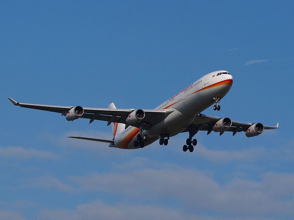 TUI met A340 naar Canarische Eilanden