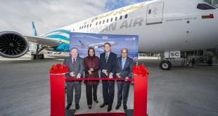 Ontvangst van de 787-9 Dreamliner - ©Oman Air