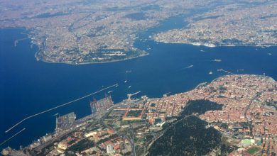 Istanbul vanuit de lucht - ©Ali Subway/Wikipedia