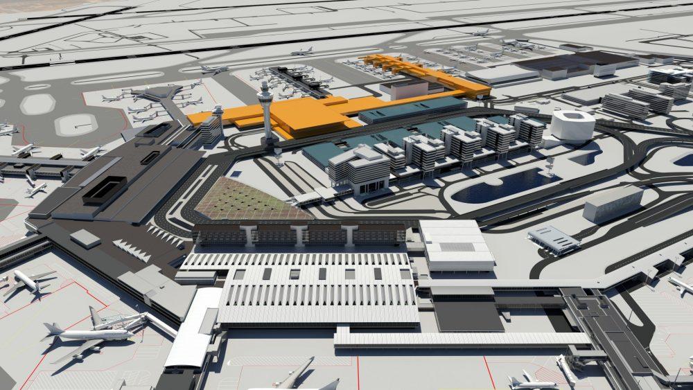 Designs voor nieuwe terminal Schiphol gepresenteerd
