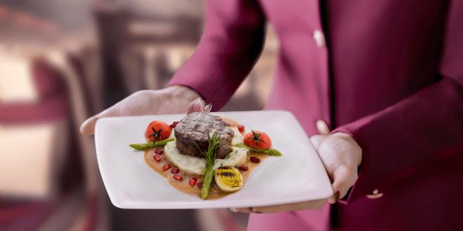 Van te voren eten reserveren bij Qatar
