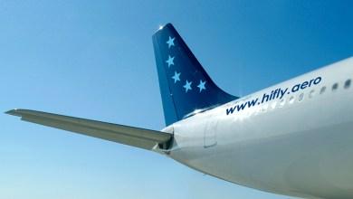 Wetlease maatschappij Hi Fly uit Portugal