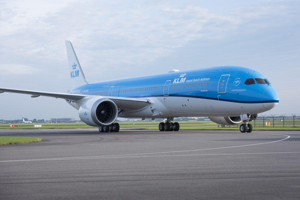 Tiende Dreamliner voor KLM - Foto's