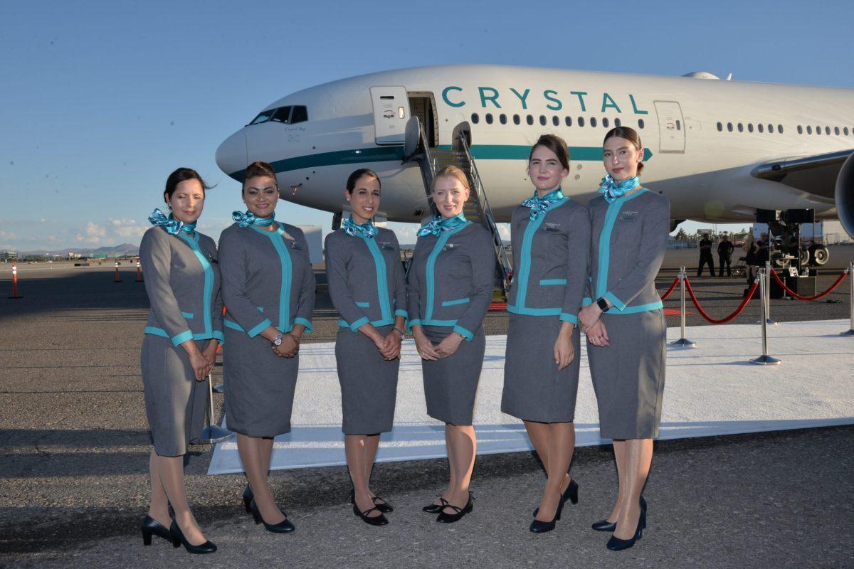 Meest luxe Boeing 777 ter wereld gedoopt - foto's