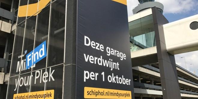 Parkeren op Schiphol volledig op de schop