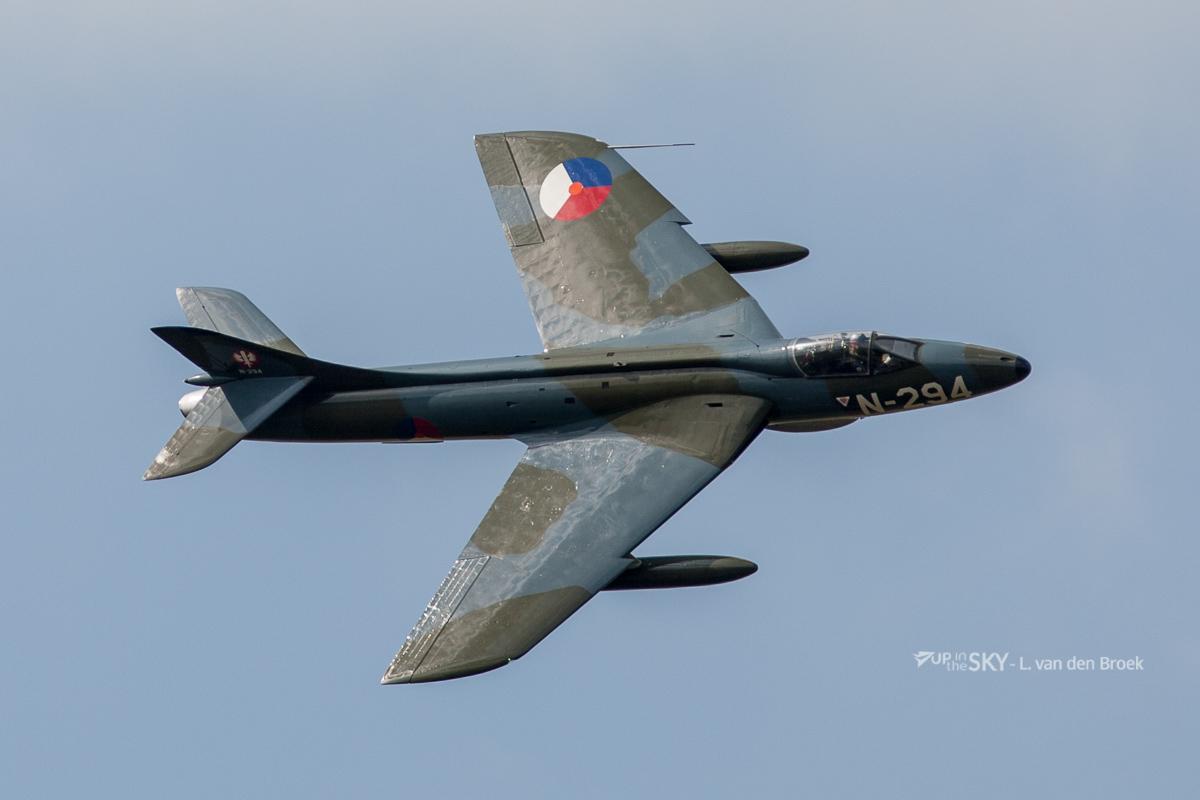 Nederlandse Hawker Hunters vliegen weer na 2 ½ jaar