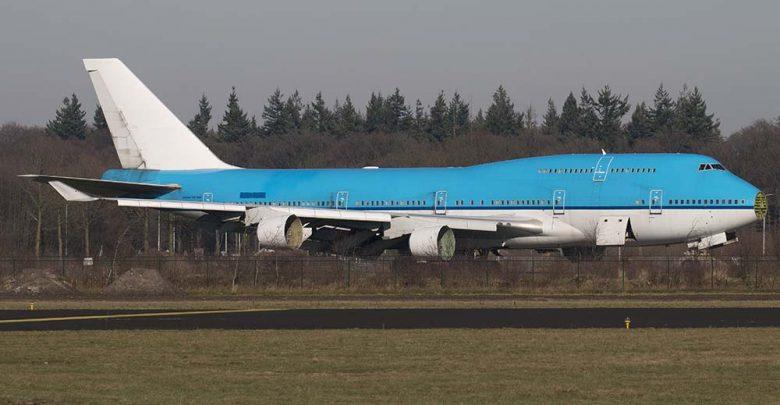 Onderdelen Boeing 747400 van KLM te koop via veiling  Up