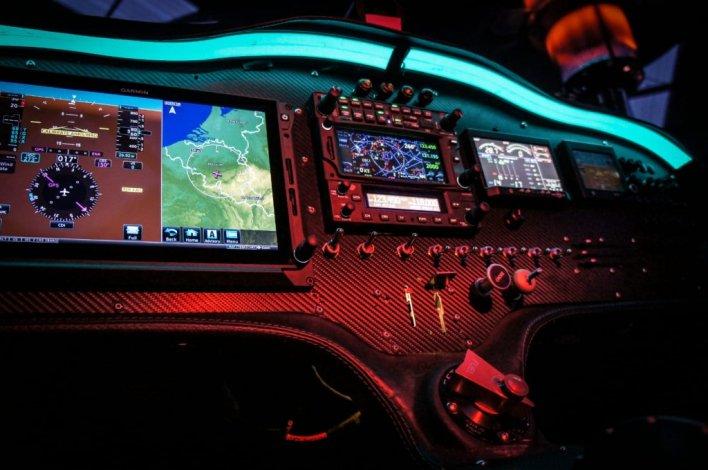 Sonaca 200 Glass Cockpit layout © Sonaca Aircraft