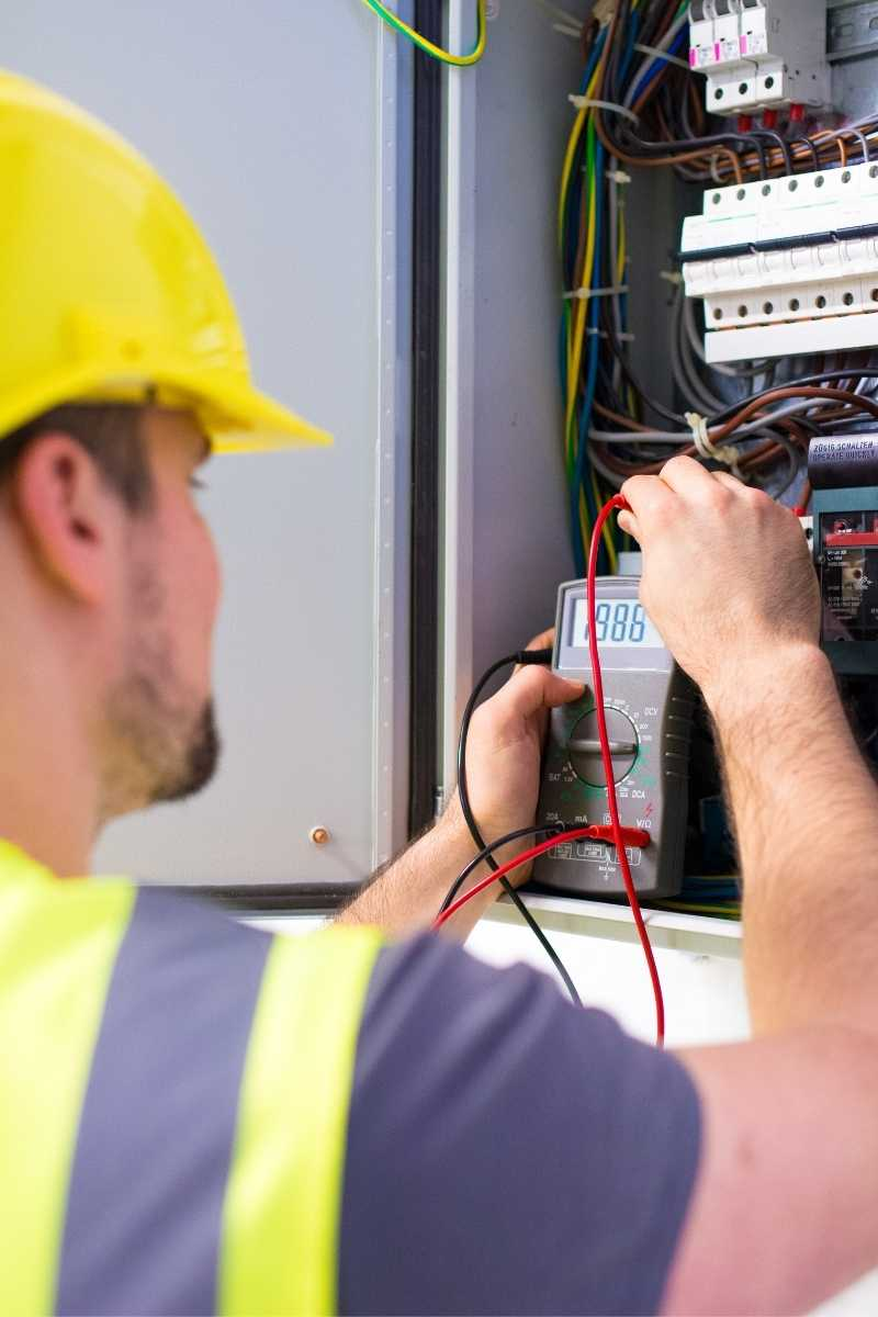 electrical services consumer unit testing