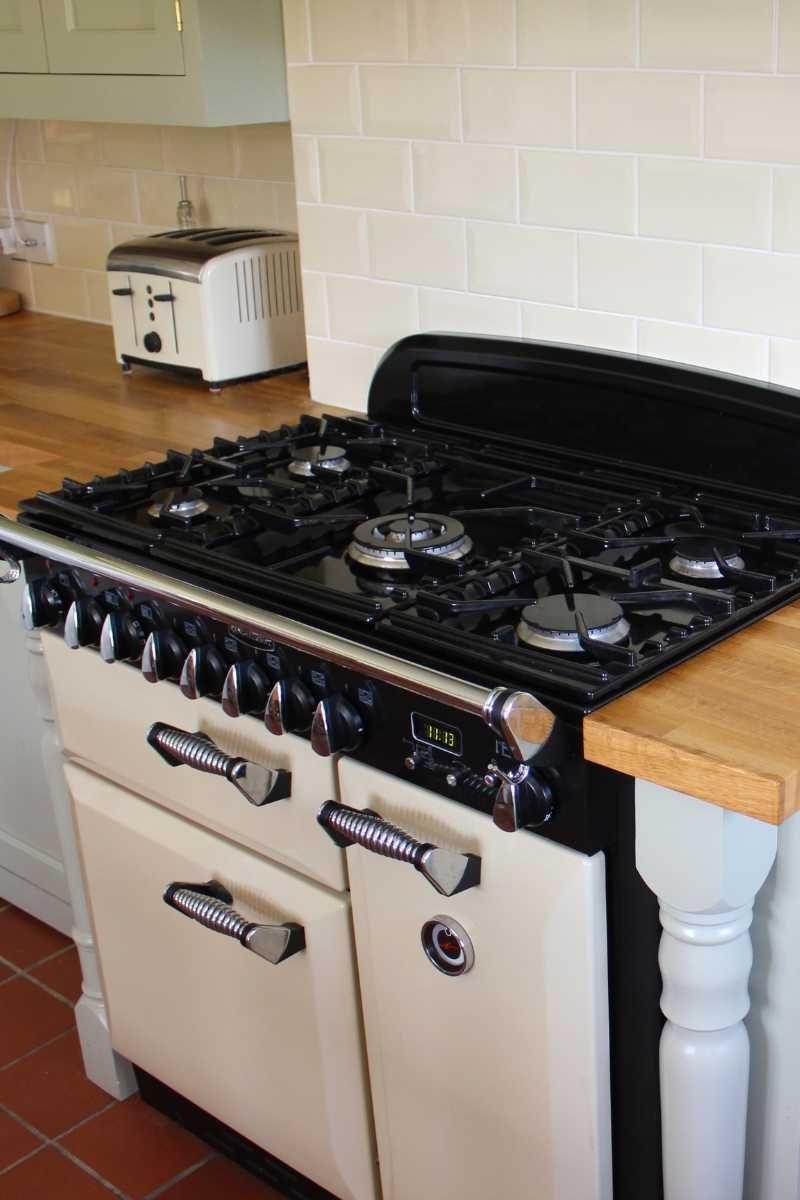 Gas cooker installation service